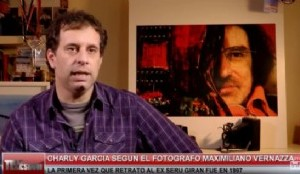 El Fotógrafo de Charly García