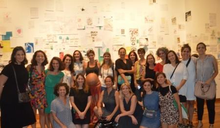 Integrantes de #HayFutura . Foto: Dopler Agencia de Noticias de Diseño. Todos los derechos reservados.