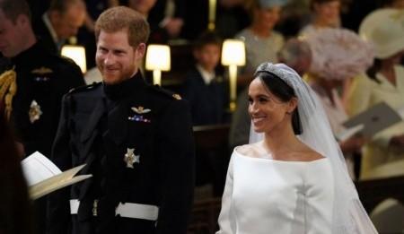 Meghan Markle elige Givenchy para su vestido de novia
