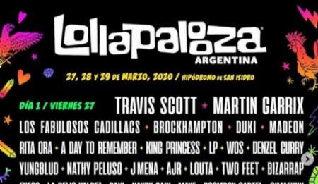 Red de Diseñadores contra el concurso de Lollapalooza