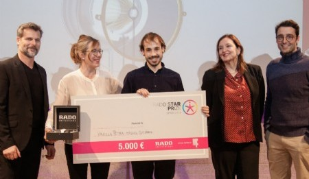Miguel Giner Gutiérrez ganador del Rado Star Prize Spain 2019 en Madrid Design Festival