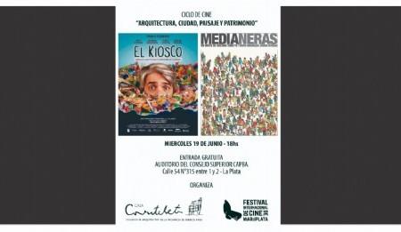 La Casa Curutchet  nuevamente se ilumina con el Festival Internacional de Cine de Mar del Plata