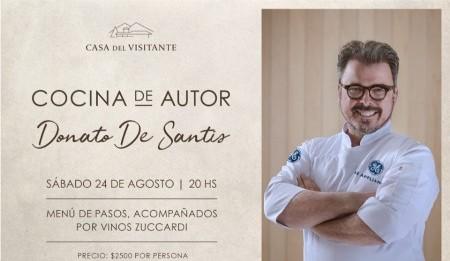 Donato De Santis llega a Casa del Visitante