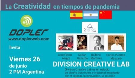Division Creative Lab: Como resultado de la pandemia se han generado y desarrollarán en la sociedad a nivel global, nuevas formas y dinámicas de trabajo