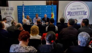Lanzamiento oficial de la Tercera Edición del Festival  de la Música Italiana de La Plata
