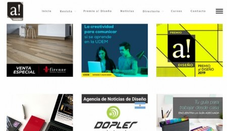 Nuestra Agencia representante en Argentina de la Revista mexicana a!Diseño