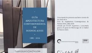 Presentación de la Guía de Arquitectura elaborada por CICOP y entrega de certificados del concurso fotográfico Cruce de los Andes.
