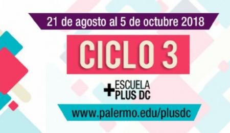 Ciclo 3 Escuela +Plus DC