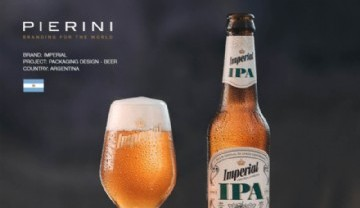 Imperial lanzó una IPA con cuerpo y Pierini la vistió.