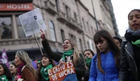 Impacto visual, unido al diseño social, desde hoy Aborto Legal