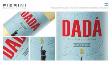 La variedad dulce del vino DADÁ ahora con diseño de Pierini
