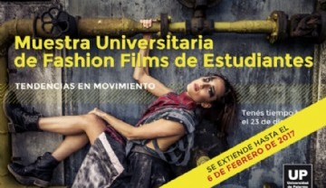 Muestra Universitaria de Fashion Films de Estudiantes