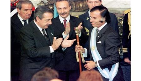 Murió Carlos Saúl Menem, las mejores fotos de su vida y su historia