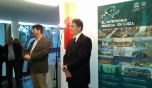 Expo UNESCO y entrevista con el embajador de Suiza en Argentina Hanspeter Mock