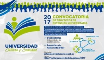 Convocatoria para proyectos de Extensión, docencia e Investigación
