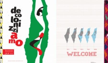 Diseño social a través de la comunicación Palestina, llega a Salerno Italia