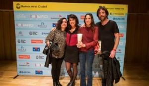 Foto: BAFICI 2016- Verónica Bordón - Sol Aramburu- Mariana Wainstein- Matías Nicolás