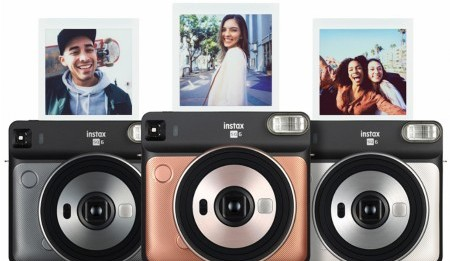 Nueva cámara en formato cuadrado