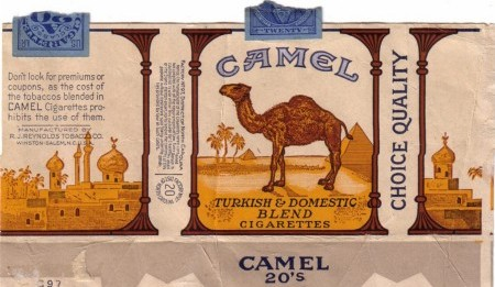 Algunas curiosidades del diseño de las cajas de Camel que posiblemente desconoces