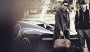 Cómo es la alianza del lujo entre Armani y Bugatti