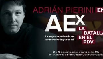 Adrián Pierini en Florianópolis,  Brasil