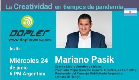 Mariano Pasik: Uno no trabaja con lo que no vibra y no te contratan si no vibrás