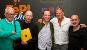 Osvaldo Palena, creador y organizador de FePI, el Festival  Internacional de la Publicidad Independiente