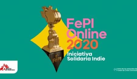 "Se anuncia FePI Online 2020 ""Iniciativa Solidaria Indie"""