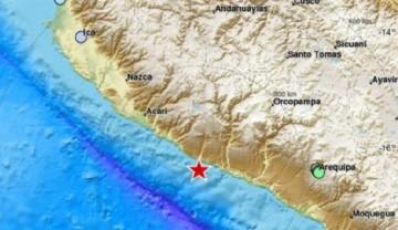 Impacto visual y social registrado por un terremoto de magnitud 6,3 en el suroeste de Perú