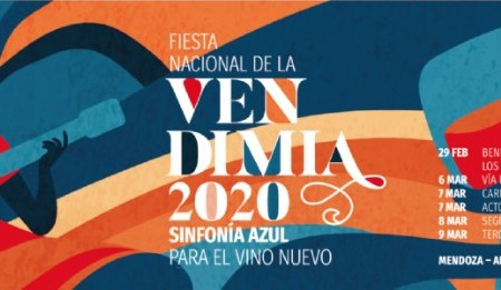 Una diseñadora mendocina de UNCUYO ganadora de la imágen de la Fiesta de la Vendimia 2020