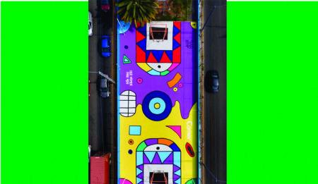 Iniciativa muralista para revivir espacios olvidados