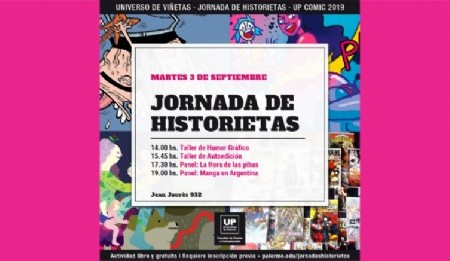 Jornadas de Historietas. UP comic 2019