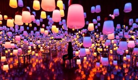 TeamLab's Shining Bright con su nueva exposición de arte