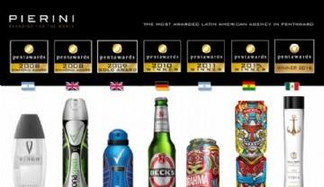 Pierini reconocido por 7ma vez en el mayor certamen de packaging del mundo
