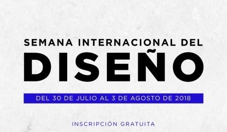 Te invitamos a la Semana Internacional del Diseño
