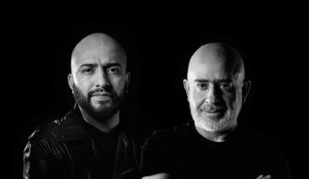 Presidente de Anónimo Raúl Cardós y Jorgé Méndez Vicepresidente Creativo de la Agencia. Foto: Agencia Anónimo