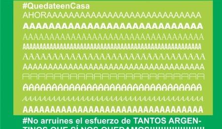 #QuedateenCasaAhora