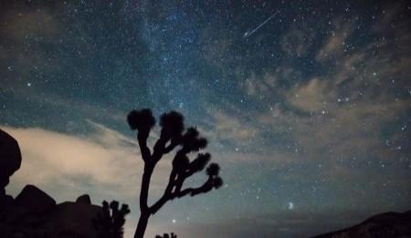 Las imágenes más impactantes de la última lluvia de estrellas del año