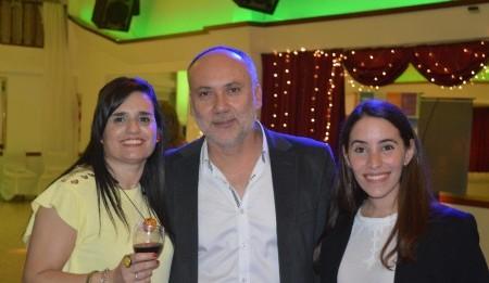 Con el Arq. Aníbal Fornari,  Decano Facultad de Diseño y Comunicación UDE y la Lic Paula Babenco