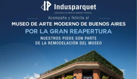 Gran reapertura del   Museo de Arte Moderno de Buenos Aires