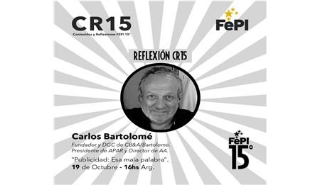 El FePI anuncia las últimas actividades del Ciclo CR15 Contenidos y Reflexiones.