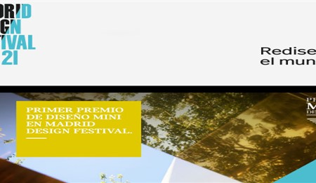 Llega el primer Premio MINI de Diseño a Madrid Design Festival 2021