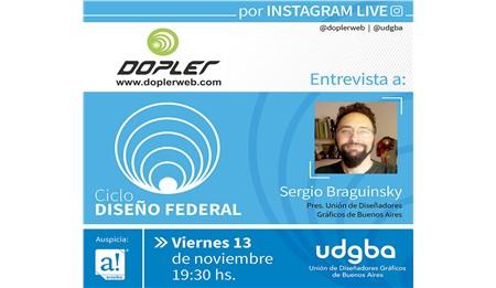 Este viernes recibimos en el Ciclo DISEÑO FEDERAL a la Unión de Diseñadores Gráficos de Buenos Aires