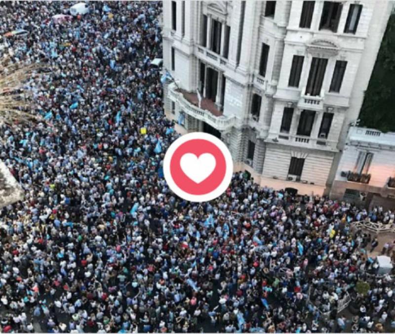 Gentileza: Cuenta personal deTwitter: Mauricio Macri