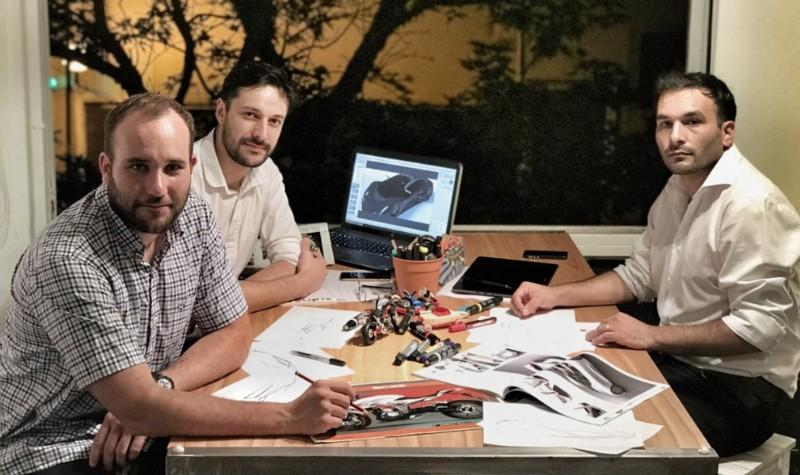 José Alegre, Balbino Martínez y Adrián Gallardo (Division Creativa Lab, de La Plata).