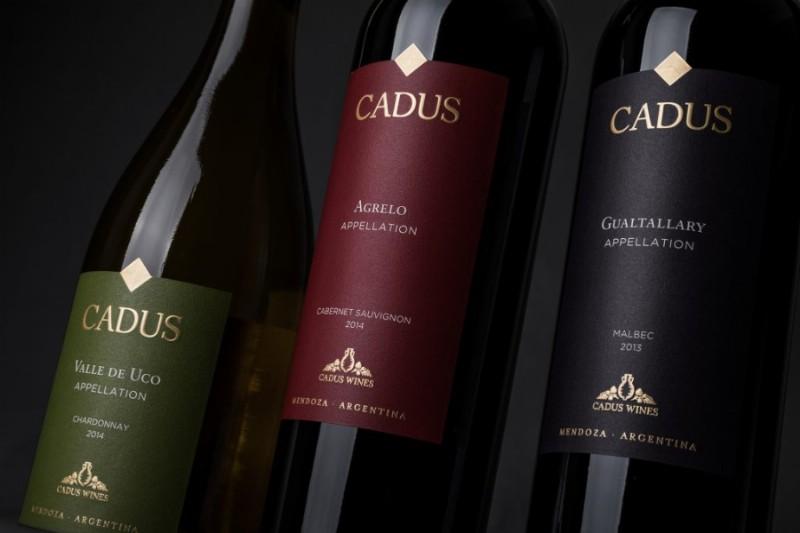 Oros. Cadus Appellation Chardonnay, Sauvignon y Malbec.