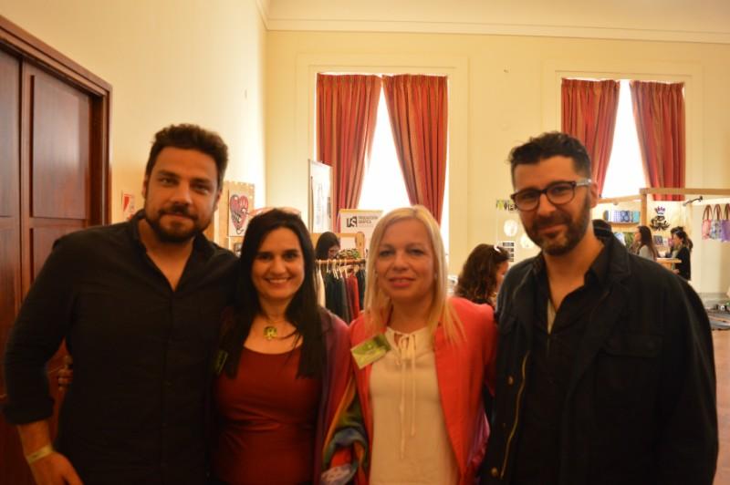 Director Alex Fittipaldi, Dra. Mariela Lopazzo, Lic. Jimena Cepeda,  Director Alejando Lazos Media Monks