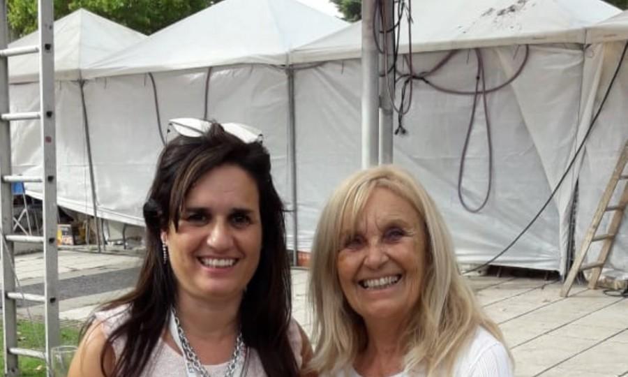 Con la Presidente de la Fundación Pro Humanae Vitae Graciela F. Sánchez
