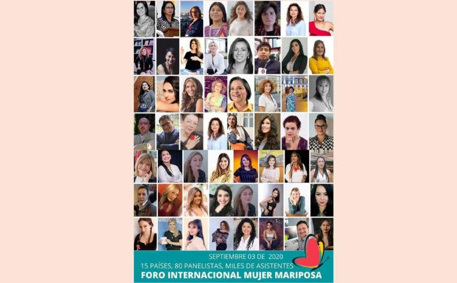 1er panel de talentosas mujeres que compartiremos el Foro Internacional Mujer Mariposa