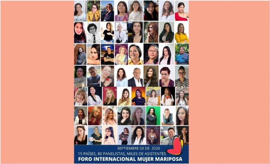 2do panel de talentosas mujeres que compartiremos el Foro Internacional Mujer Mariposa
